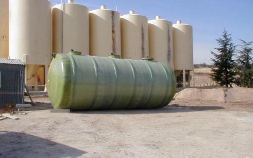 Depuradora anaerobia con aros para bodega