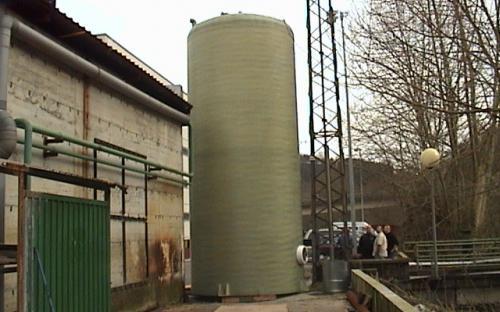 Deposito vertical fondo plano 80.000 lts.