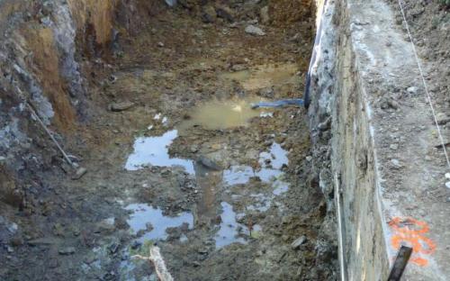 Excavacion depuradora colegio 550 habitantes